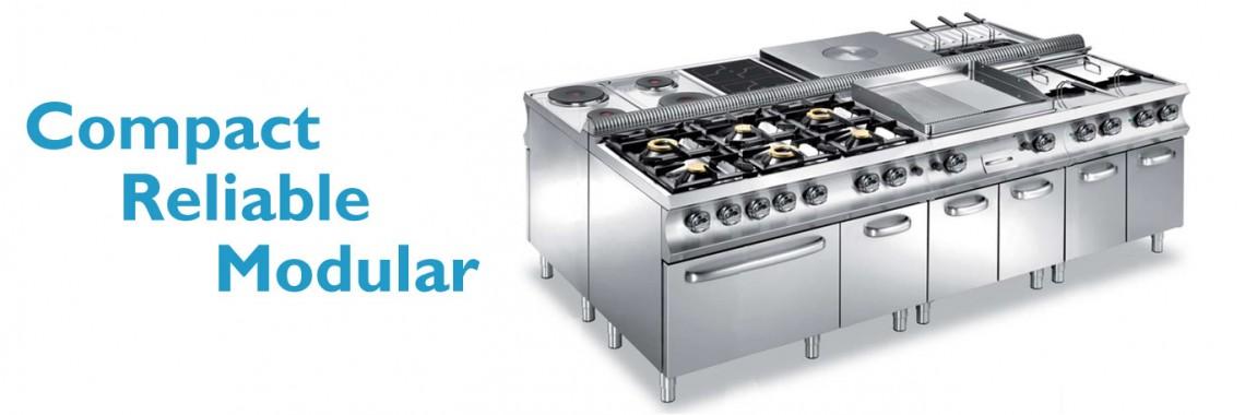 Hobart modular kitchen equipment